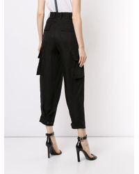 Cargo crop di Neil Barrett in Black