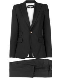 Классическая Рубашка Строгого Кроя DSquared², цвет: Black