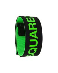 DSquared² Armband mit Logo in Black für Herren