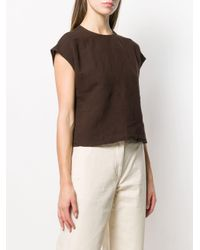 Our Legacy バックボタン Tシャツ Brown