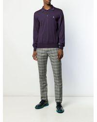 メンズ Vivienne Westwood ニット ポロシャツ Multicolor