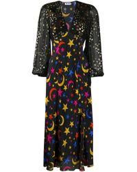 Vestido Melanie Rixo de color Black