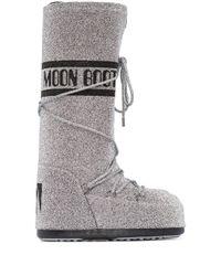 Moon Boot Classic スノーブーツ Metallic