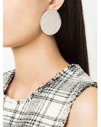 Annie Costello Brown - Metallic Xl Disc Earrings - Lyst