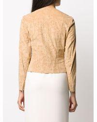 Dior 2000s プレオウンド ノーカラー ジャケット Natural