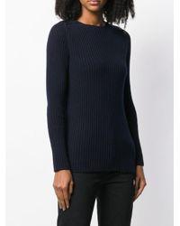 Liska リブニット セーター Blue