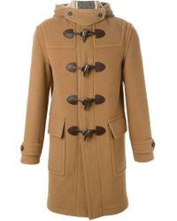 Burberry - Natural Duffle Coat for Men - Lyst
