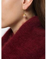 Iosselliani - Multicolor Puro Rose Quartz Earrings - Lyst