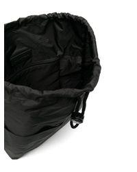 メンズ DSquared² ロゴストラップ バックパック Black