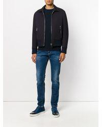 Dondup Blue Distressed Skinny Jeans for men