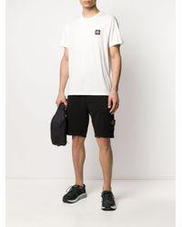 Stone Island Shorts mit elastischem Bund in Black für Herren