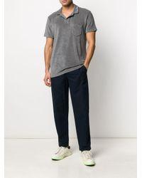 メンズ Orlebar Brown ショートスリーブ ポロシャツ Gray