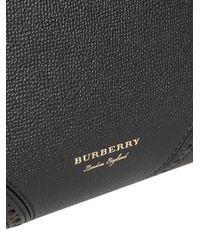 Burberry - Black Small Banner Tote - Lyst
