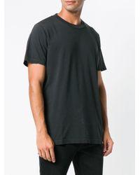 メンズ DIESEL クルーネック Tシャツ Black