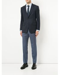 Gieves & Hawkes - Blue Formal Fitted Shirt for Men - Lyst