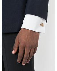 Boutons de manchette à design géométrique Lanvin pour homme en coloris Multicolor
