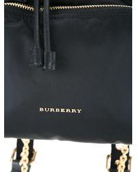 Burberry バックルリュック Black