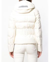 Peuterey - White Fitted Padded Jacket - Lyst