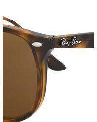 Ray-Ban Brown 'havana' Sunglasses
