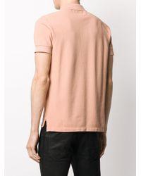 メンズ Tom Ford ショートスリーブ ポロシャツ Pink