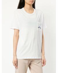 The Upside ラウンドネック Tシャツ White