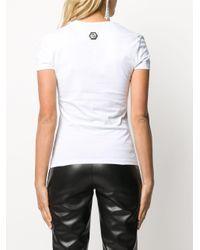 Philipp Plein スカル Tシャツ White