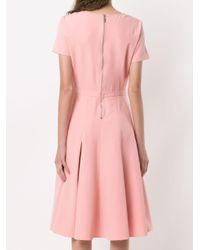 Spezzia Flared Dress Olympiah, цвет: Pink