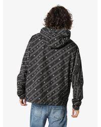 メンズ Fendi カーリグラフィ ジャケット Black