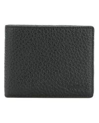 Baldinini - Black Classic Bi-fold Wallet for Men - Lyst