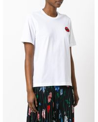 Markus Lupfer White 'lara Lip Alex' T-shirt