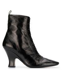 Marc Jacobs Black The Victorian Ankle Boots