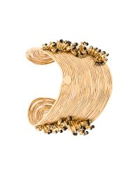 Gas Bijoux - Metallic Wave Pampille Bracelet - Lyst