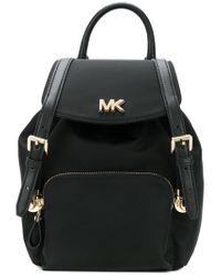MICHAEL Michael Kors - Black Mott Small Nylon Backpack - Lyst