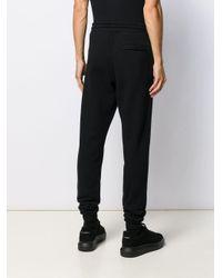 Pantaloni sportivi di Marcelo Burlon in Black da Uomo