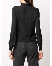 Блузка С Драпировкой MICHAEL Michael Kors, цвет: Black