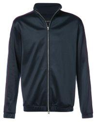 Stampd - Blue Sateen Track Jacket for Men - Lyst