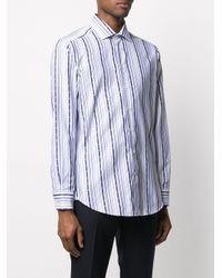 Полосатая Рубашка С Длинными Рукавами Etro для него, цвет: White