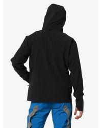 メンズ Arc'teryx Isogon フーデッドジャケット Black