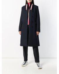 Stella McCartney コントラストカラー コート Multicolor