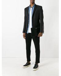 Funda para tablet mediana Saint Laurent de hombre de color Black
