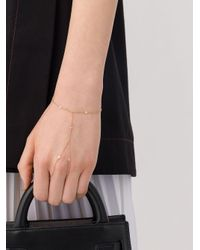 Kismet by Milka Metallic 14kt Rose Gold Diamond Ring Bracelet