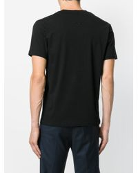 KENZO - Black Branded T-shirt for Men - Lyst