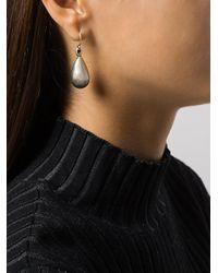 Ann Demeulemeester - Metallic Drop Earrings - Lyst