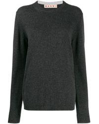 Pull en cachemire Marni en coloris Gray