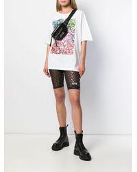 Versace Jeans ロゴ ベルトバッグ Black
