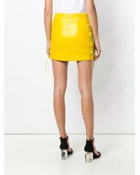 Manokhi ミニスカート Yellow