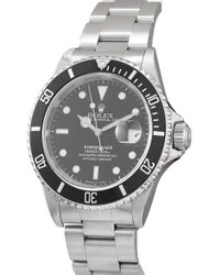 Наручные Часы Submariner Pre-owned 40 Мм 1997-го Года Rolex для него, цвет: Black