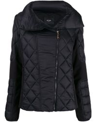 Twin Set Black Quilted Puffer Jacket