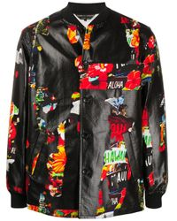 Куртка С Принтом Comme des Garçons для него, цвет: Multicolor
