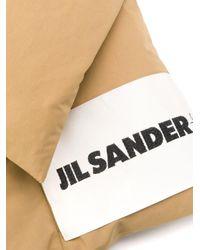 Jil Sander ロゴ パデッドスカーフ Multicolor